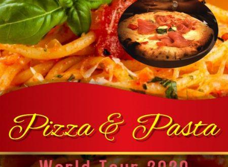 """""""PIZZA & PASTA TOUR"""" DAGLI APPENNINI ALLE ANDE: PARTE DALL'ITALIA E CULMINERA' A SANTIAGO DEL CILE IL TOUR PIU' GOLOSO DI TUTTI I TEMPI."""
